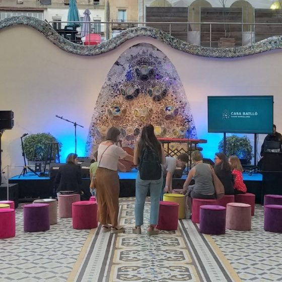 Zaz en Casa Batlló